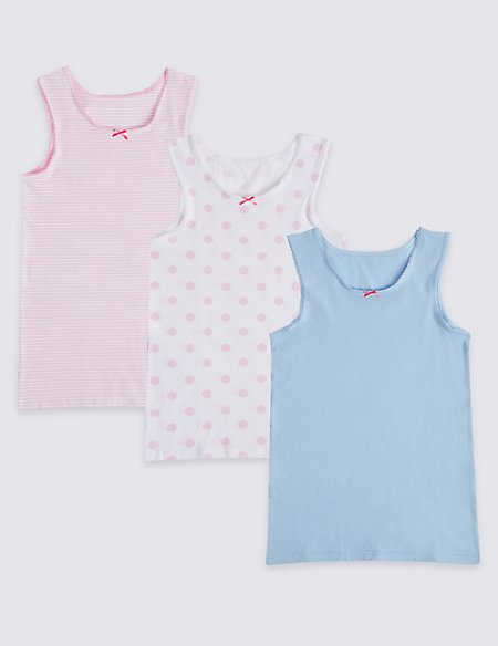 Cotton Vests with Stretch (18 Months - 10 Years)
