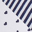 2 Pack Cotton Rich Heart Print Bras, BLUE MIX, swatch