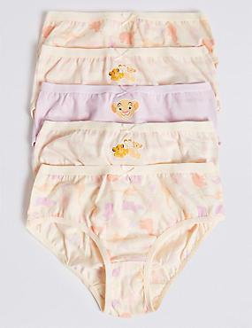 a33d13fc3dc9e Lot de 5 nbsp culottes 100 nbsp % coton à motif Roi Lion™ (du