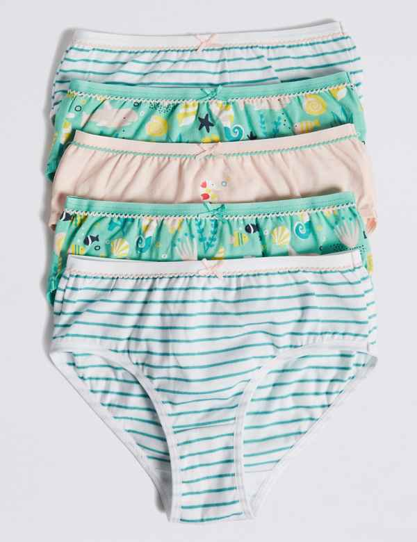 98f30a234ea21 5 Pack Sea Horse Briefs (18 Months - 12 Years)