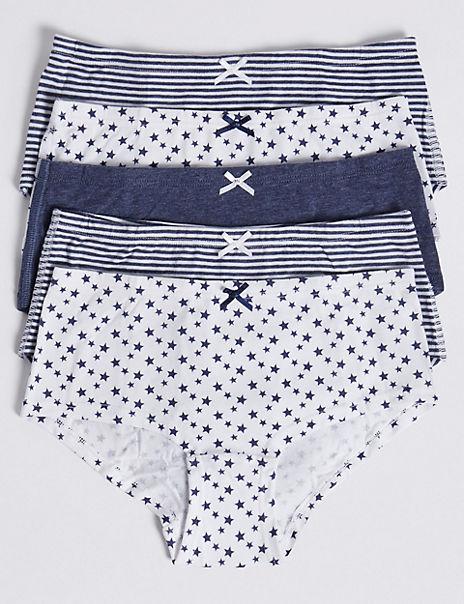 5 Pack Dreamskin® Star Shorts (6-16 Years)