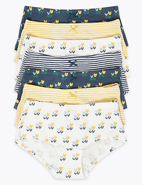 7 Pack Tulip Shorts (2-16 Years)