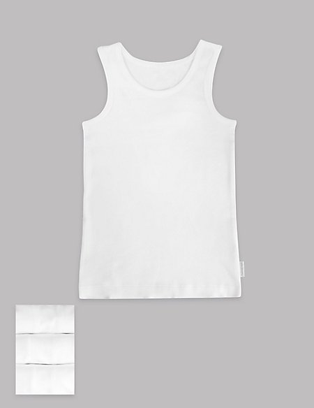 Pure Cotton Superfine Vests (18 Months - 16 Years)