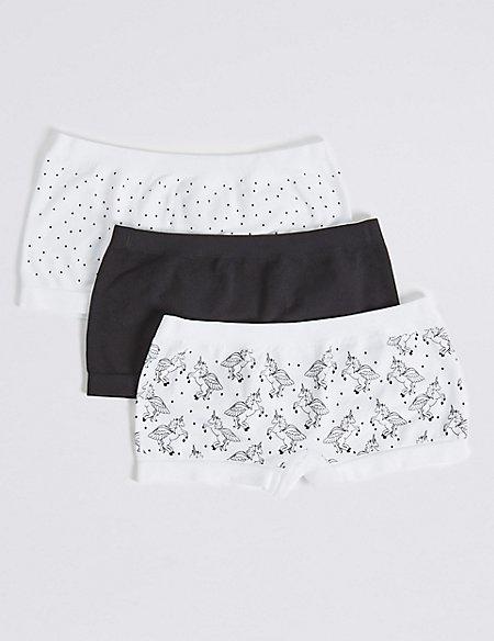 Seamfree Shorts (6-16 Years)