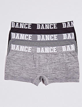 3 Pack Dance Shorts (6-16 Years)
