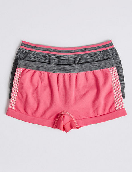 2 Pack Sporty Shorts (6-16 Years)