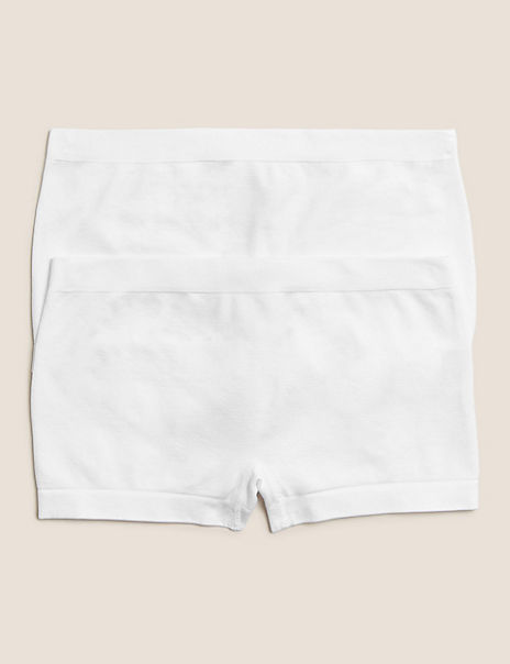 2 Pack Seamfree Shorts (6-16 Years)