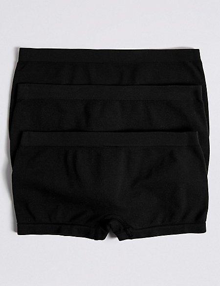 3 Pack Seamfree Shorts (6-16 Years)