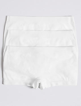 3 Pack Seamfree Shorts (6-16 Years)