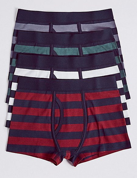 Cotton Rich Trunks with Stretch (18 Months - 16 Years)