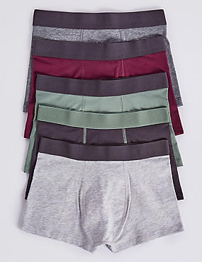 5 Pack Trunks with Stretch (18 Months - 16 Years)