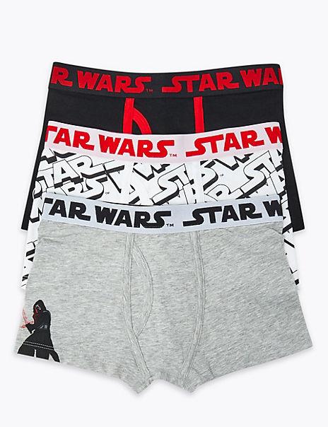 3 Pack Star Wars ™ Trunks (6-16 Years)