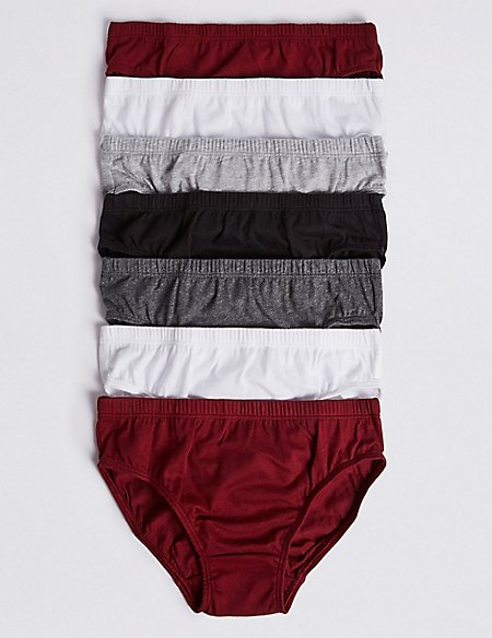 7 Pack Pure Cotton Briefs (2-16 Years)