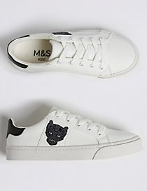 Kids' Embroidered Trainers (13 Small - 7 Large)