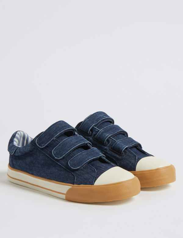 1bfdfadf66 Kids  Denim Trainers (13 Small - 7 Large)