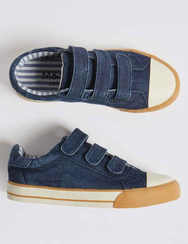 6c1cf0feb Kids  Denim Trainers (13 Small - 7 Large)