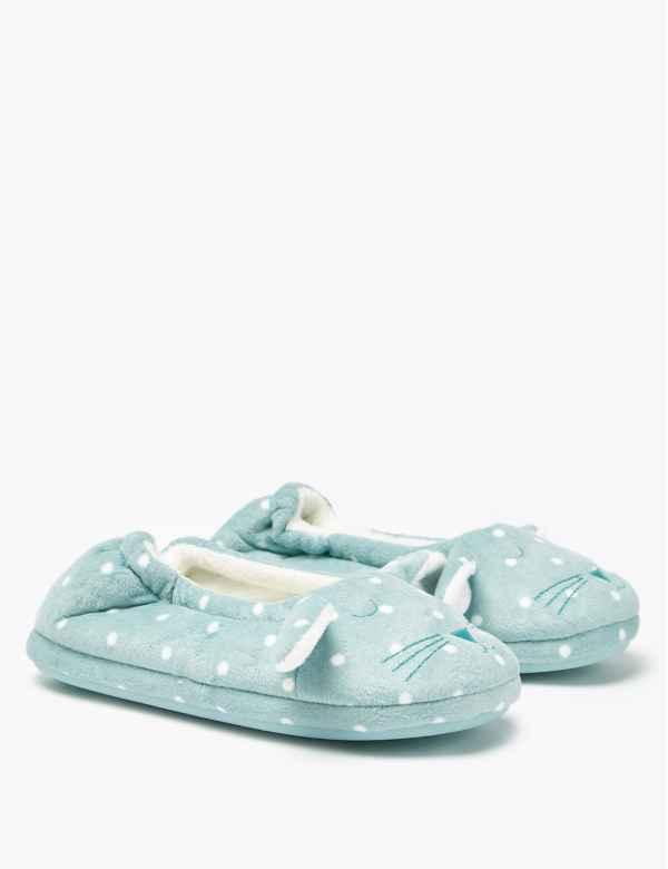 056809e63 Kids' Fleece Bunny Slippers (5 Small - 12 Small). New