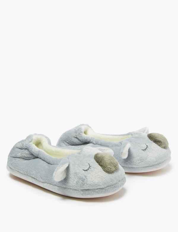 78d9d2e18e596 Girls' Slippers | Cute Slippers for Girls | M&S