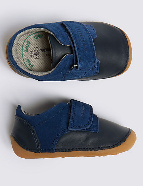 Kids' Walkmates™ Leather Pre Walker Shoes (2 Small - 5 Small)