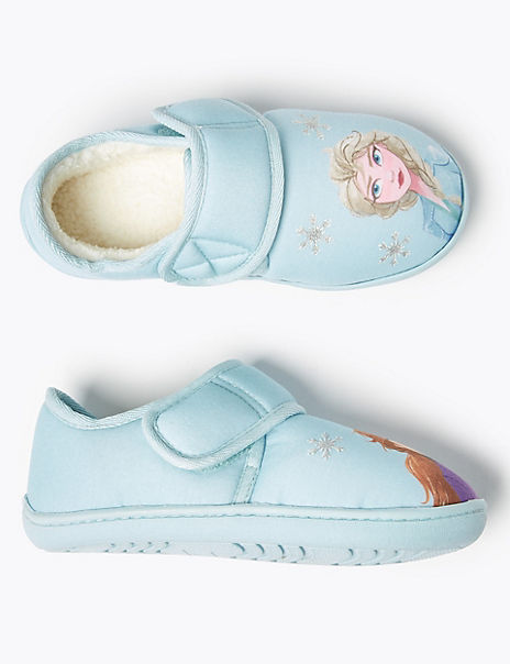 Kids' Disney Frozen 2 Slippers (5 Small - 12 Small)