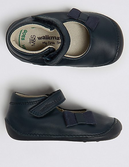 Kids' Walkmates™ Leather Shoes (2 Small - 5 Small)