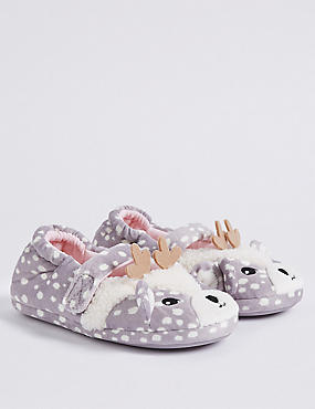 Kids' Deer Ballet Slippers (5 Small - 12 Small)