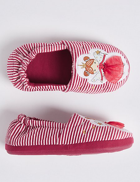 Kids' Fairy Slippers (5 Small - 12 Small)