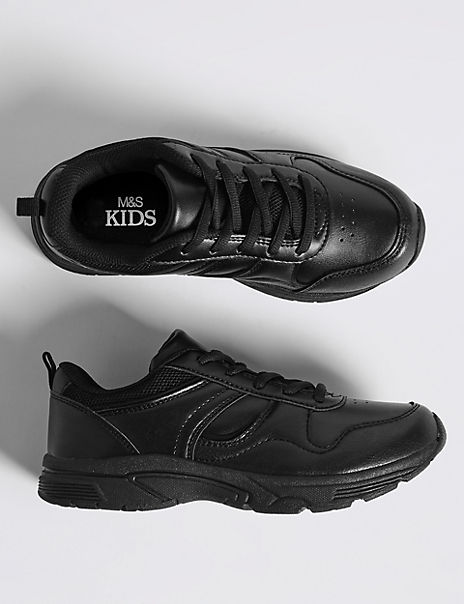 Kids' Lace-up Trainers (13 Small - 7 Large)