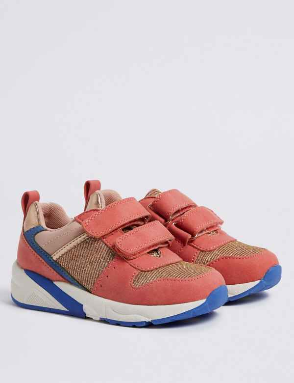 0f9af3d4bb060 Kids  Colour Block Trainers (5 Small - 12 Small)
