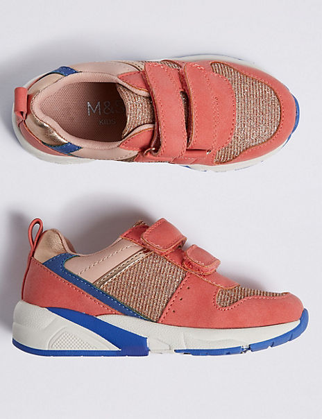 Kids' Colour Block Trainers (5 Small - 12 Small)
