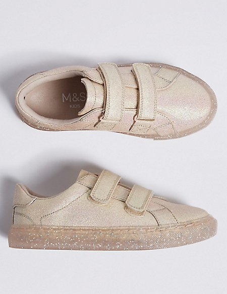 Kids' Sole Glitter Trainers (5 Small - 12 Small)