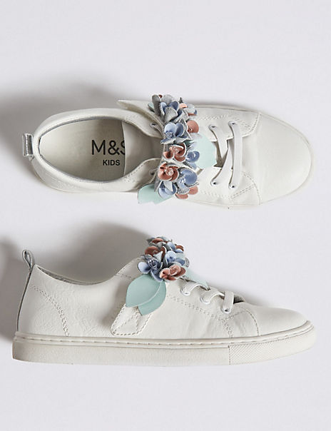 Kids' Floral Trainers (5 Small - 12 Small)