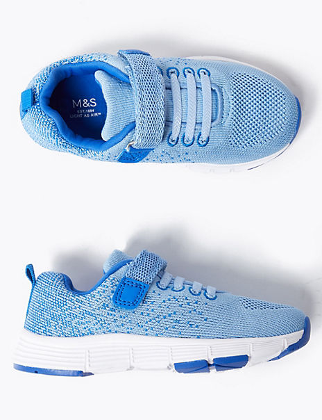 Kids Light As Air™ Ombre Riptape Trainers (5 Small - 12 Small)