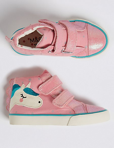 Unicorn High Top Trainers (5 Small - 12 Small)