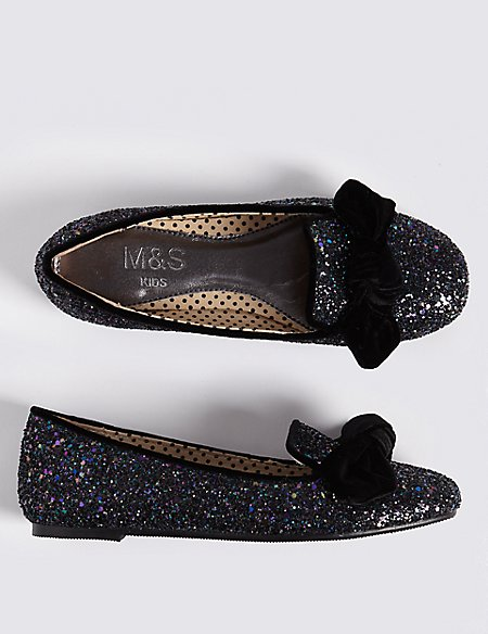 Kid's Glitter Shoes (13 Small - 6 Large)