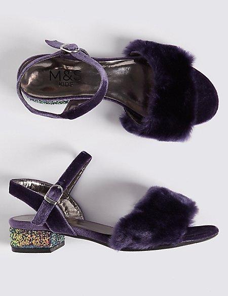 Kid's Block Heel Sandal (13 Small – 6 Large)