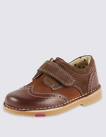 Kids' Walkmates Leather Brogue Shoes