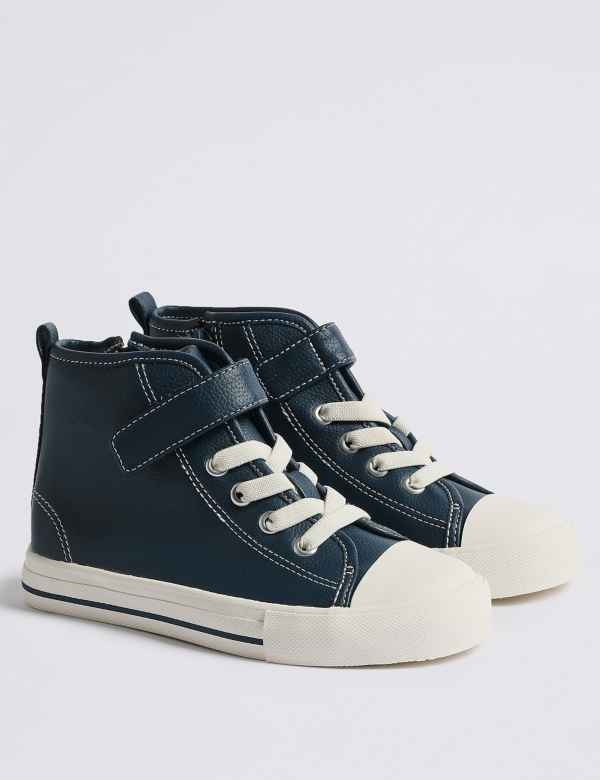 8977cf130593 Kids  High Top Trainers (5 Small - 12 Small)