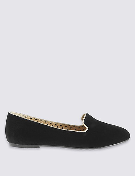 Kids' Velvet Albert Loafers