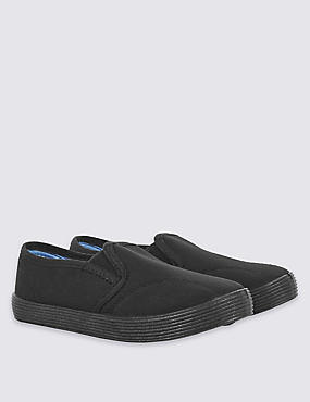 Kids' Slip-on Plimsolls (7 Small - 4 Large)