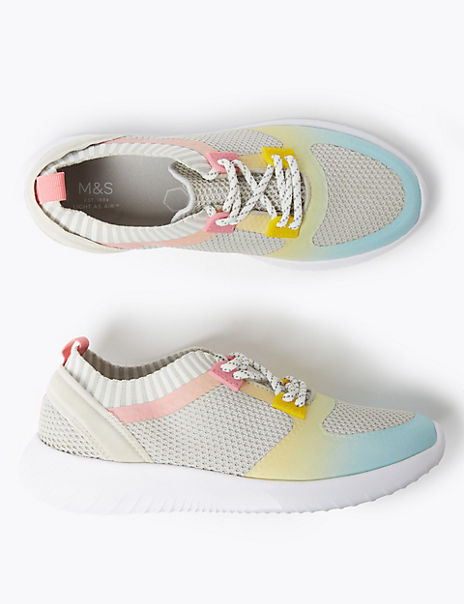 Kids' Light As Air™ Lace Trainers (13 Small - 6 Large)