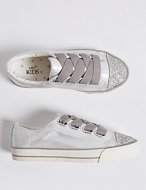Kids' Sparkle Fashion Trainers (13 Small - 6 Large)