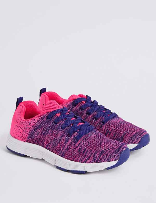 e80dc09c2e43 Kids  Knitted Fashion Trainers (13 Small - 6 Large)