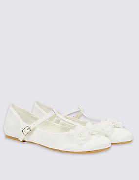 Kids' T-Bar Bridesmaid Shoes