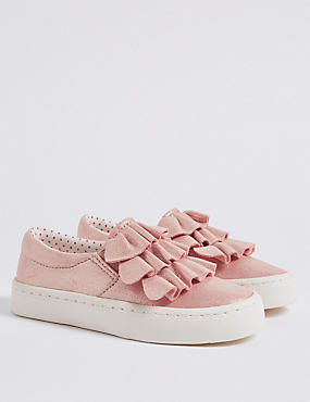 Kids' Ruffle Fashion Trainers
