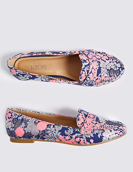 Kids' Printed Loafers (13 Small - 6 Large)