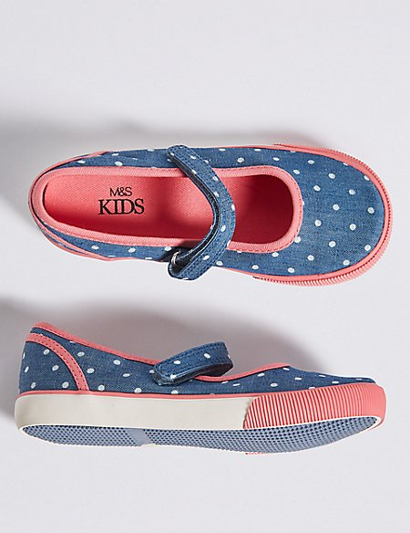 Kid's Spot Mary Jane Fashion Trainers (5 small - 12 small)