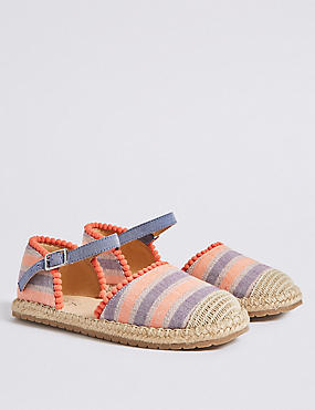 Kids' Espadrilles Shoes (13 Small - 6 Large)