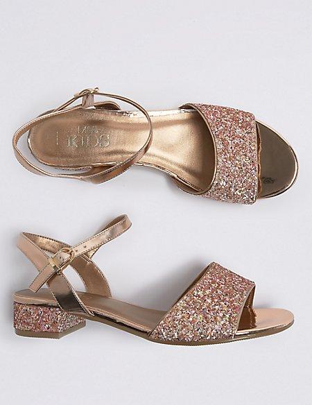 Kids' Block Heel Sandals (13 Small - 6 Large)
