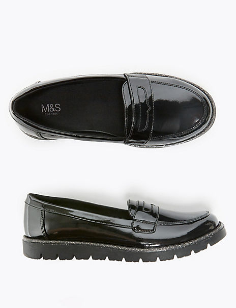 Kids' Freshfeet™ Slip On Loafers (13 Small - 6 Large)